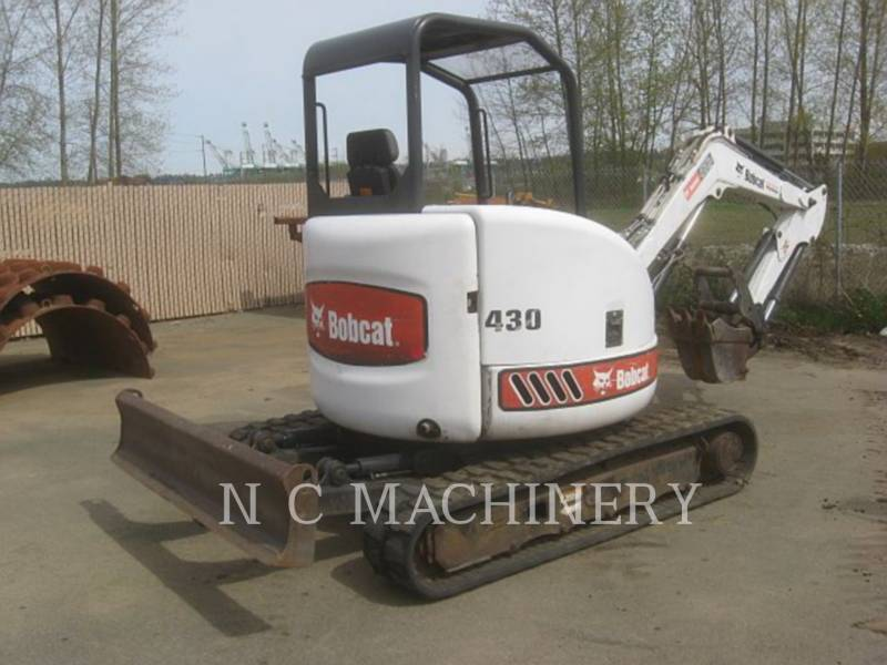 BOBCAT TRACK EXCAVATORS 430AG equipment  photo 3