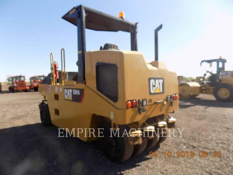 CATERPILLAR GUMMIRADWALZEN CW14 equipment  photo 3