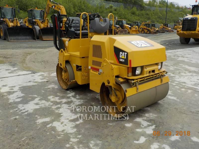 CATERPILLAR TANDEMVIBRATIONSWALZE, ASPHALT CB24 equipment  photo 2