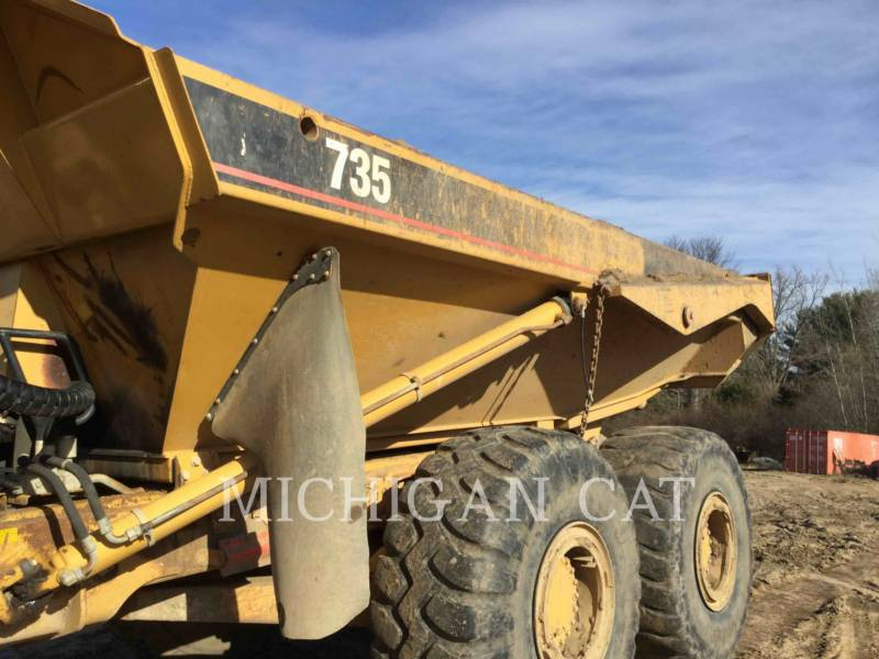 CATERPILLAR CAMIONES ARTICULADOS 735 T equipment  photo 16