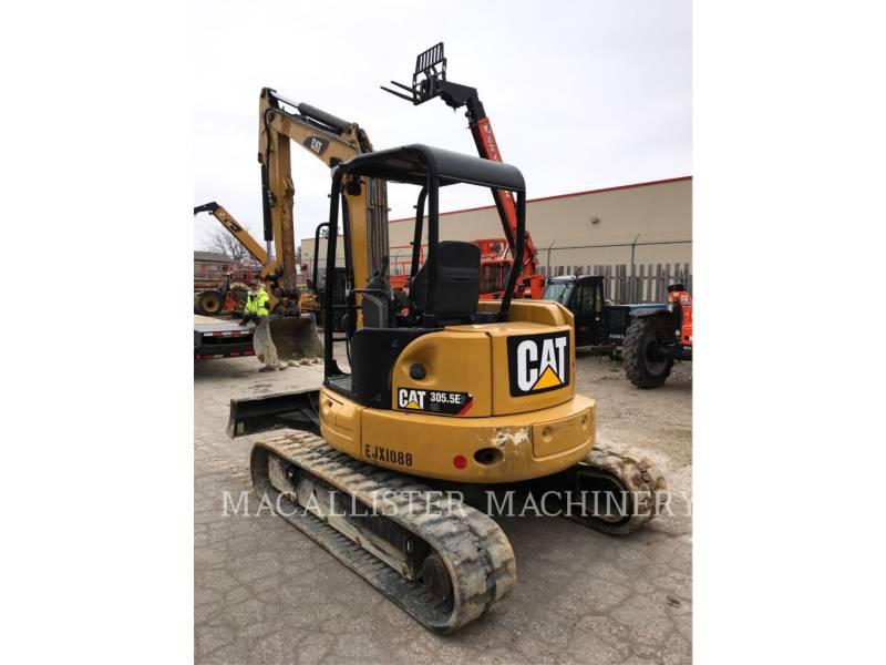 CATERPILLAR PELLES SUR CHAINES 305.5E2CR equipment  photo 4
