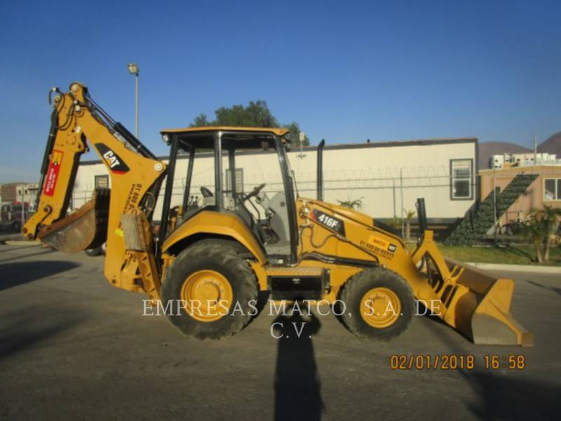 CATERPILLAR 挖掘装载机 416F2STLRC equipment  photo 1