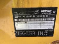 CATERPILLAR BAGGERLADER 420FIT equipment  photo 6