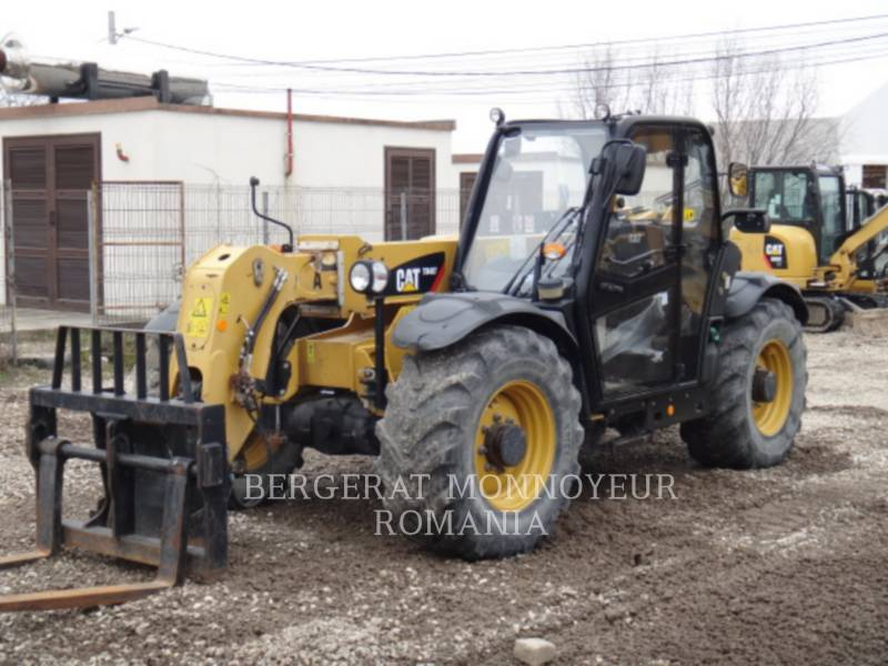 CATERPILLAR TELEHANDLER TH407 equipment  photo 2