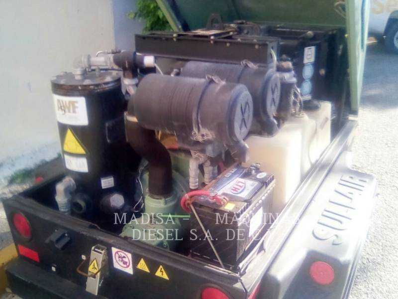 SULLAIR AIR COMPRESSOR 185DPQCAT equipment  photo 8