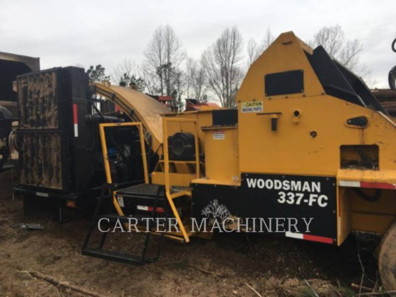 WOODSMAN SALES INC Häcksler, horizontal WOODS 337 equipment  photo 1