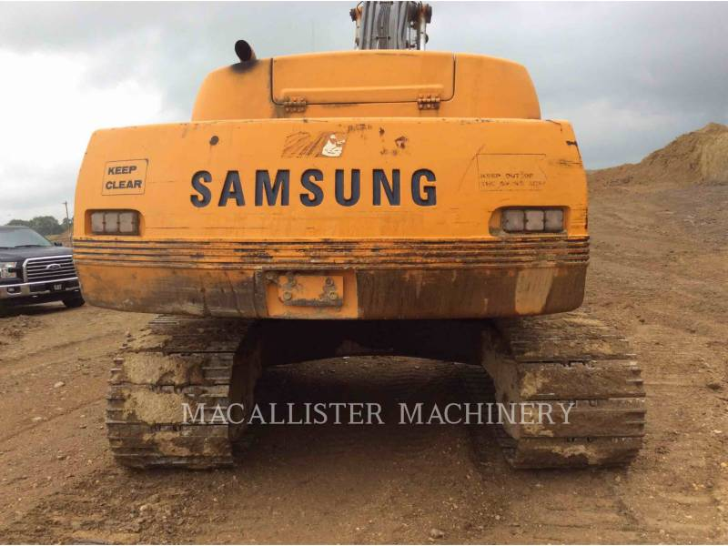 SAMSUNG TRACK EXCAVATORS 350 equipment  photo 5