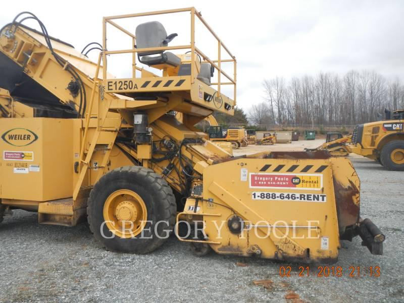 WEILER MISCELLANEOUS / OTHER EQUIPMENT E1250 equipment  photo 23