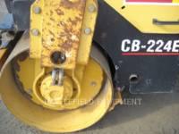 CATERPILLAR ROLO COMPACTADOR DE ASFALTO DUPLO TANDEM CB-224E equipment  photo 10