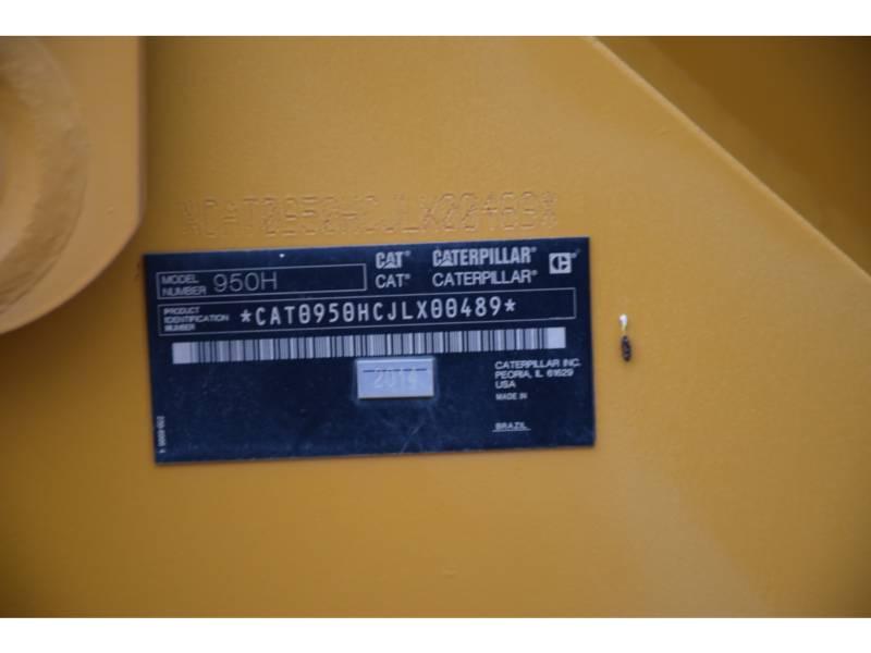 CATERPILLAR ホイール・ローダ/インテグレーテッド・ツールキャリヤ 950 H equipment  photo 5