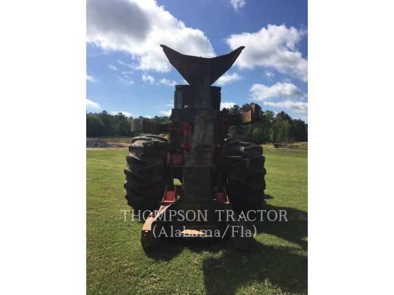 CATERPILLAR FORESTRY - FELLER BUNCHERS - WHEEL 573C equipment  photo 5