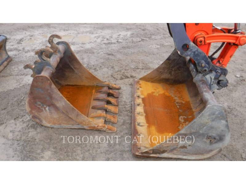 KUBOTA CORPORATION TRACK EXCAVATORS U55 equipment  photo 5