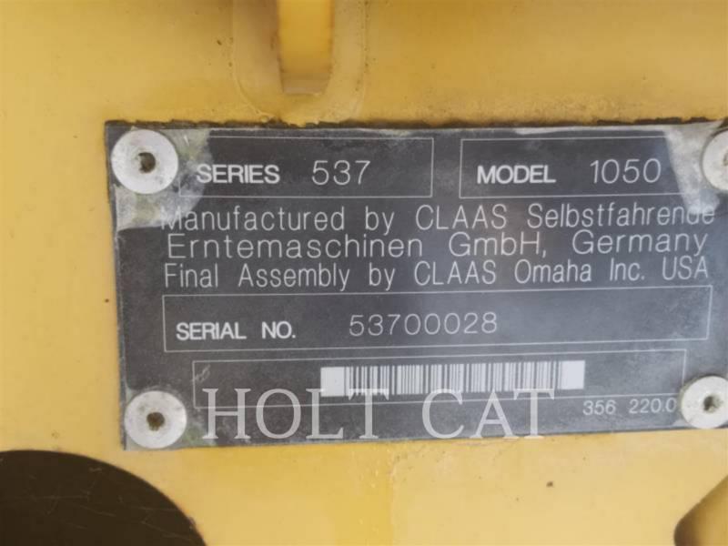 CLAAS OF AMERICA  COMBINE HEADER MAXFLO 1050 equipment  photo 5