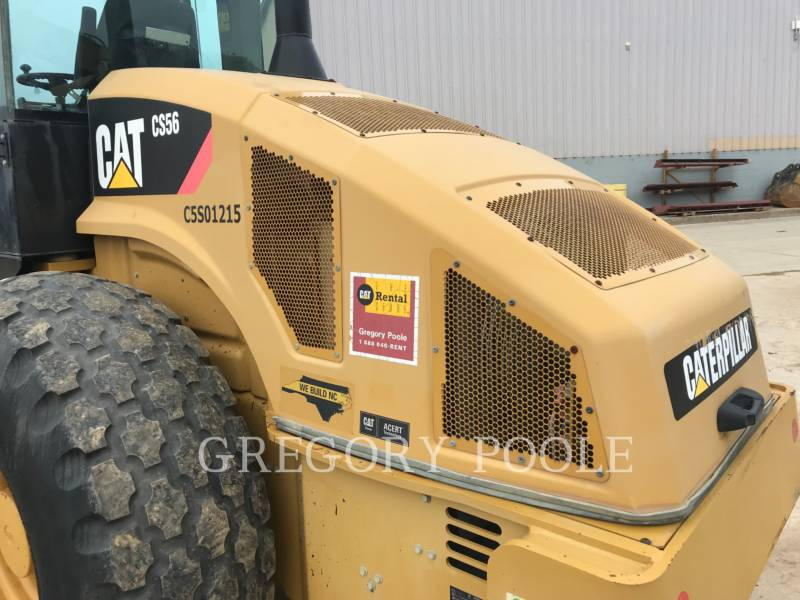 CATERPILLAR EINZELVIBRATIONSWALZE, GLATTBANDAGE CS56 equipment  photo 10