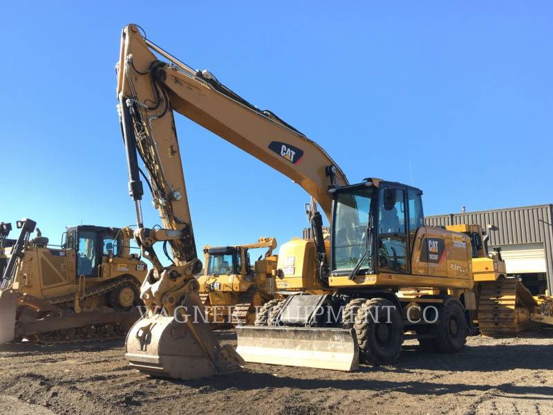 CATERPILLAR PELLES SUR PNEUS M320F equipment  photo 2