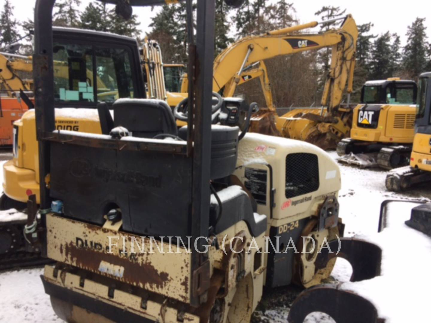 Detail photo of 2002 Ingersoll Rand DD24 from Construction Equipment Guide