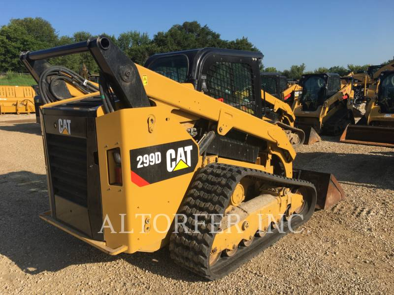 CATERPILLAR MULTITERREINLADERS 299D equipment  photo 4