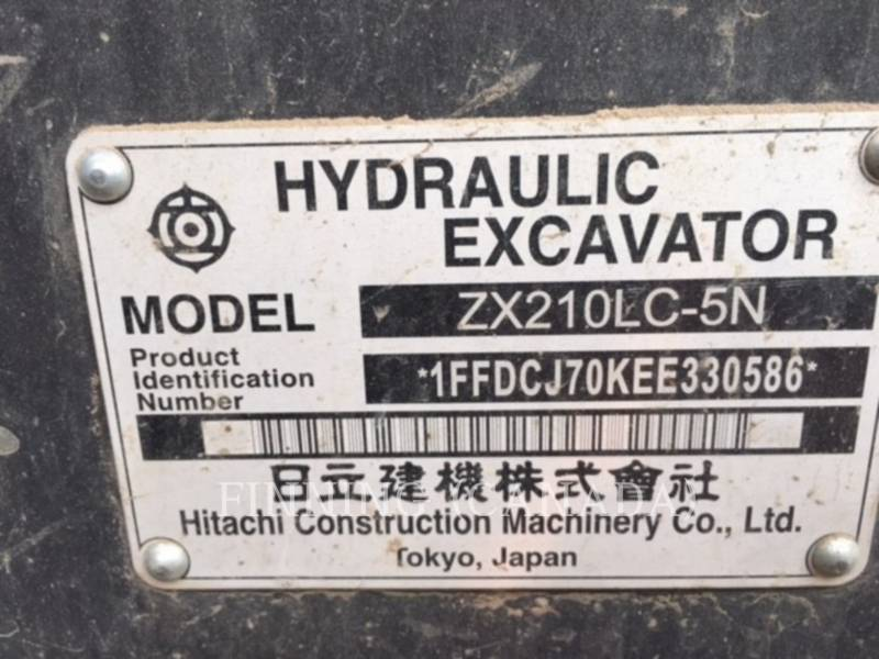 HITACHI KETTEN-HYDRAULIKBAGGER ZX 210 LC equipment  photo 5