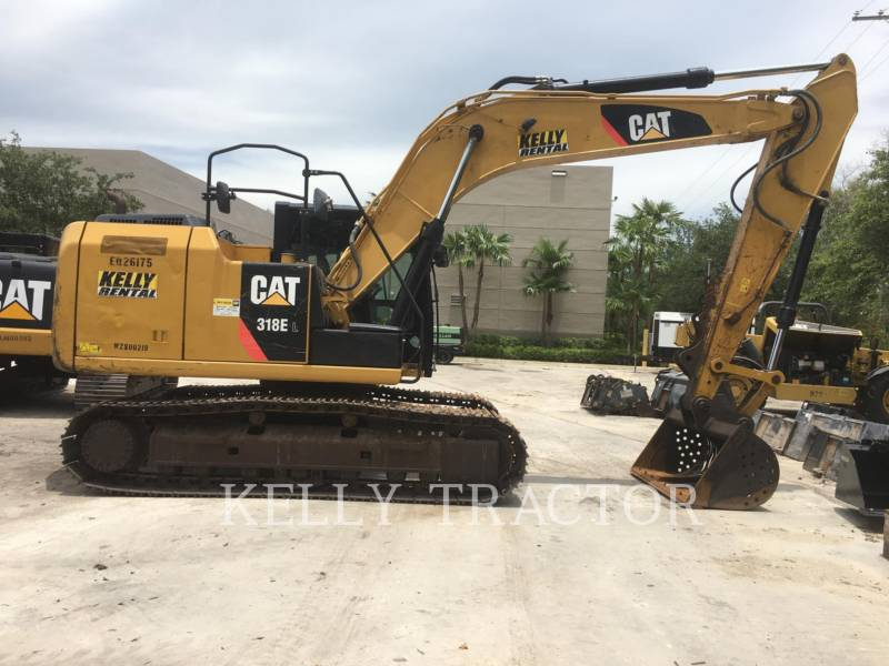 CATERPILLAR ESCAVADEIRAS 318EL equipment  photo 6