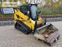 Equipment photo CATERPILLAR 257B CHARGEURS COMPACTS RIGIDES 1