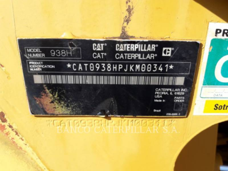 CATERPILLAR CHARGEURS SUR PNEUS/CHARGEURS INDUSTRIELS 938H equipment  photo 6