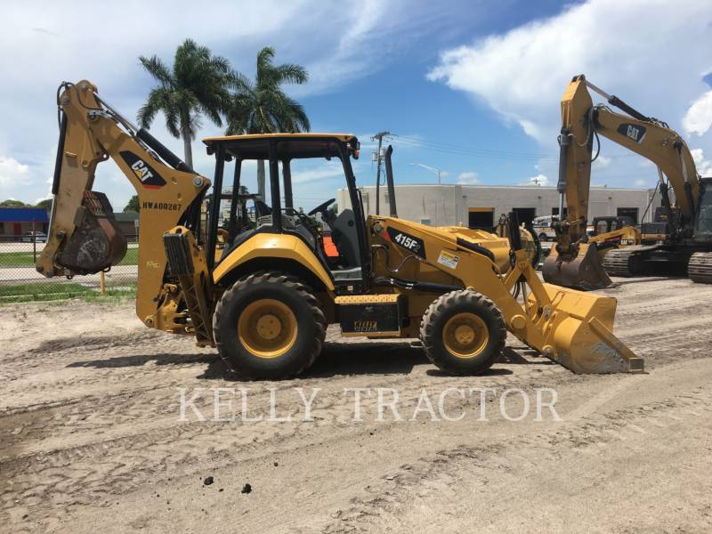 CATERPILLAR RETROESCAVADEIRAS 415F2ST equipment  photo 2