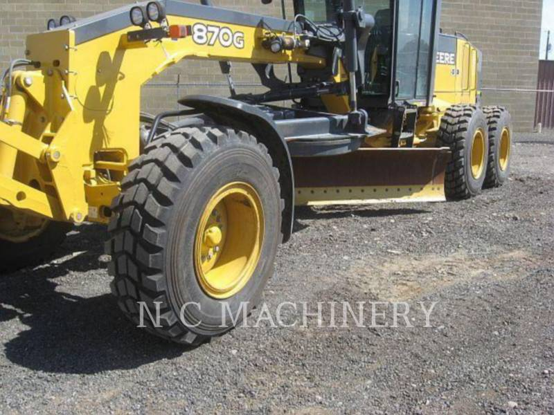 JOHN DEERE MOTOR GRADERS 870G equipment  photo 6