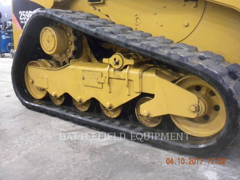 CATERPILLAR CARGADORES MULTITERRENO 259B3 equipment  photo 8
