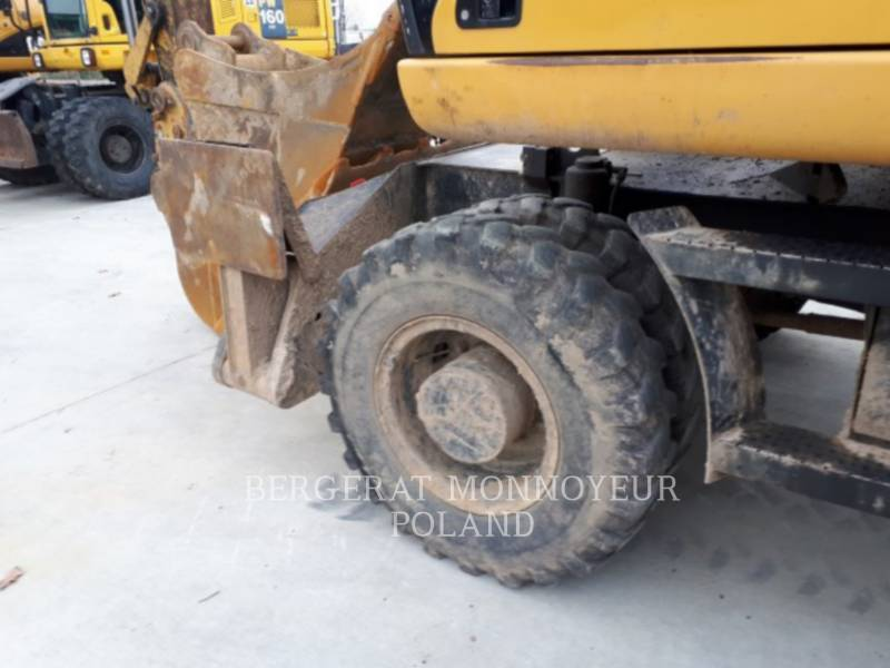 CATERPILLAR WHEEL EXCAVATORS M315D equipment  photo 13