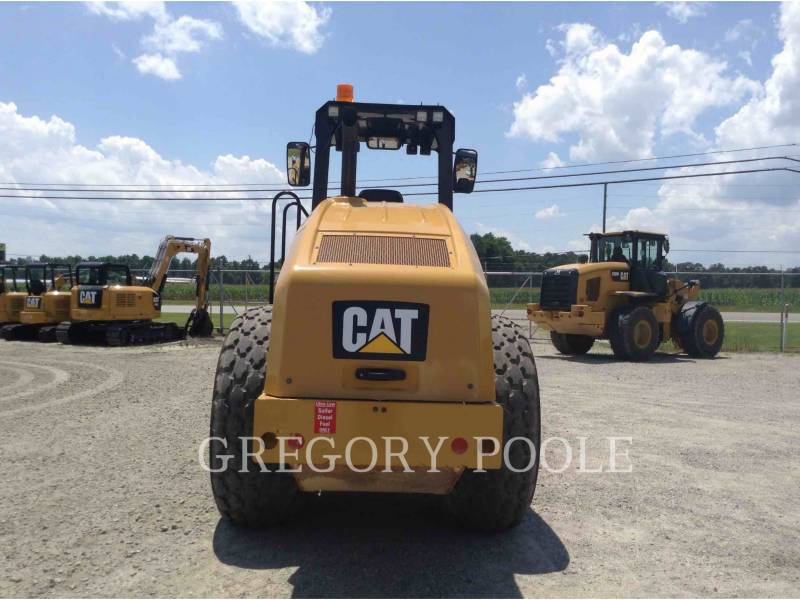 CATERPILLAR VIBRATORY SINGLE DRUM SMOOTH CS-56B equipment  photo 6