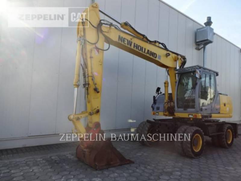 FORD / NEW HOLLAND WHEEL EXCAVATORS MH5.6 equipment  photo 1