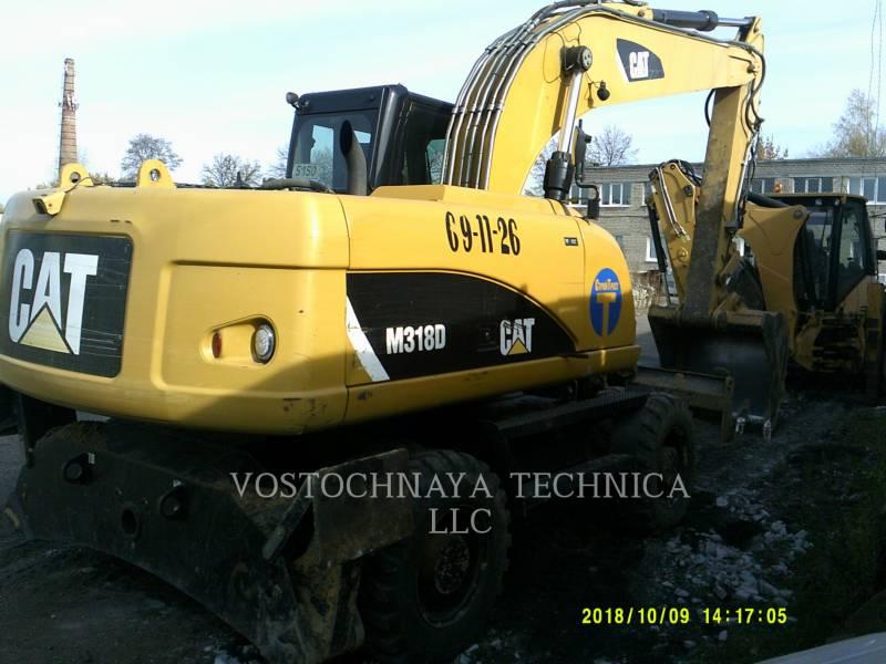 Caterpillar EXCAVATOARE PE ROŢI M318D equipment  photo 1