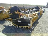 Equipment photo LEXION COMBINE G750    GA12063 HEADERS 1