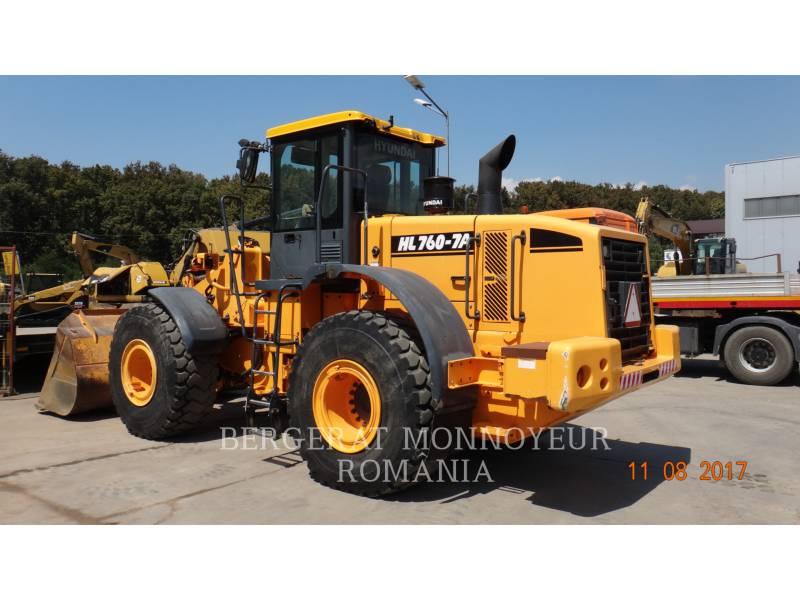 HYUNDAI CONSTRUCTION EQUIPMENT ÎNCĂRCĂTOARE PE ROŢI/PORTSCULE INTEGRATE HL760-7A equipment  photo 1