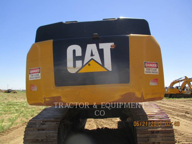 CATERPILLAR TRACK EXCAVATORS 349E LVG equipment  photo 8