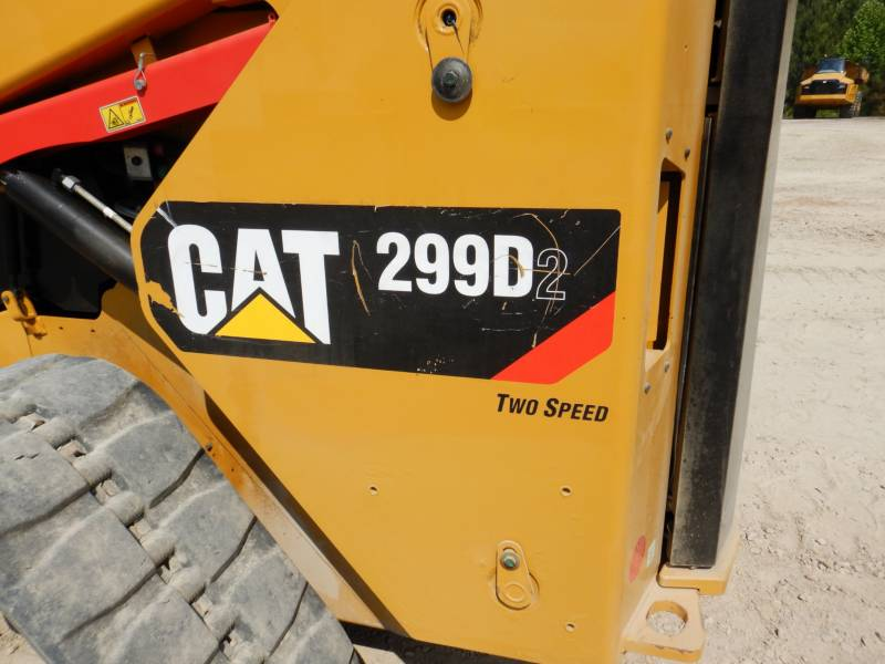 CATERPILLAR PALE CINGOLATE MULTI TERRAIN 299 D 2 equipment  photo 18