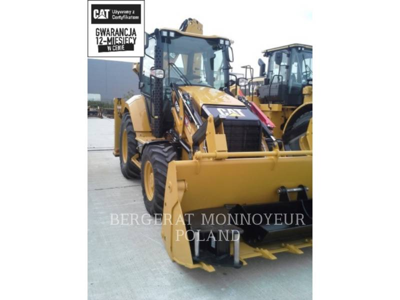 CATERPILLAR BACKHOE LOADERS 428 F 2 equipment  photo 1