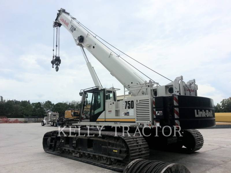 LINK-BELT CONST. CRANES TCC-750 equipment  photo 2
