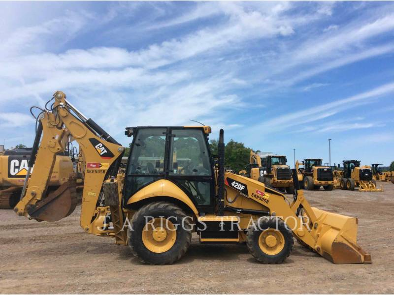 CATERPILLAR BACKHOE LOADERS 420F 4AE equipment  photo 9