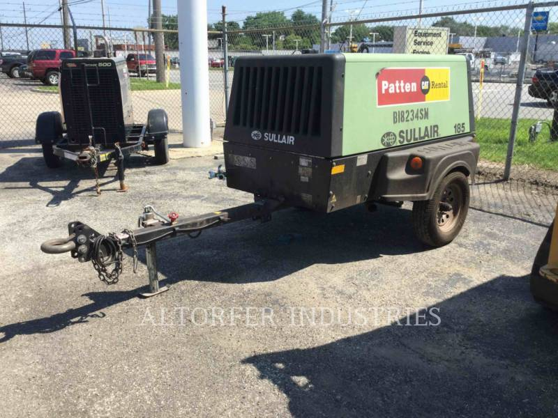 SULLAIR AIR COMPRESSOR 185CA equipment  photo 1