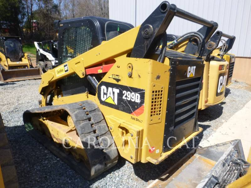 CATERPILLAR CARGADORES DE CADENAS 299D equipment  photo 3