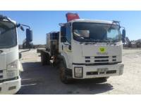 Equipment photo ISUZU 850 WITH FASSI CRANE F150 AUTOMEZZI DA TRASPORTO 1