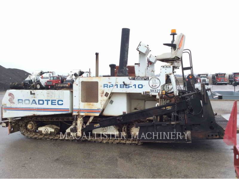 ROADTEC ASPHALT PAVERS RP185 equipment  photo 3