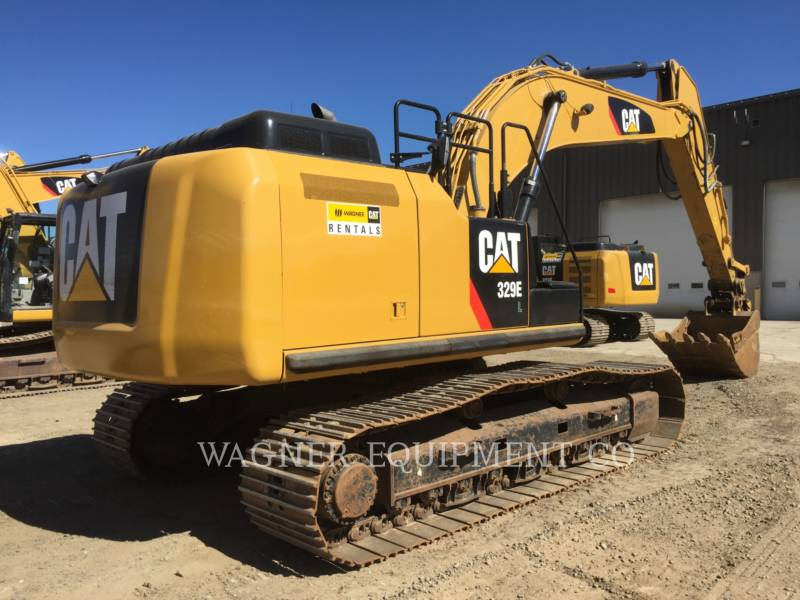 Caterpillar EXCAVATOARE PE ŞENILE 329EL equipment  photo 2