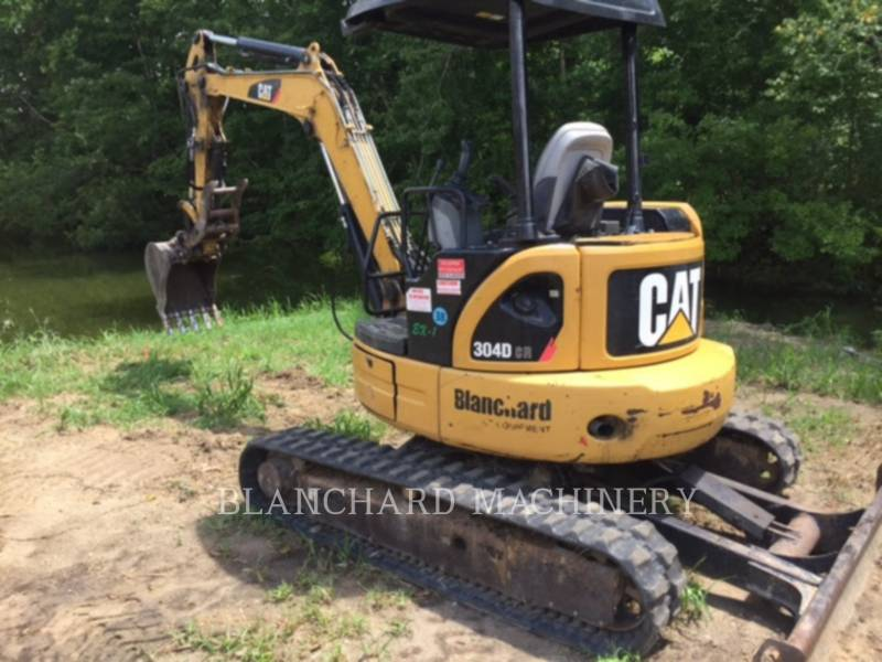CATERPILLAR KETTEN-HYDRAULIKBAGGER 304D CR equipment  photo 1