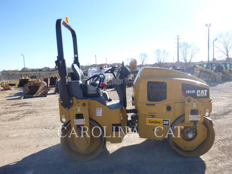 CATERPILLAR TANDEMVIBRATIONSWALZE, ASPHALT CB34B equipment  photo 4