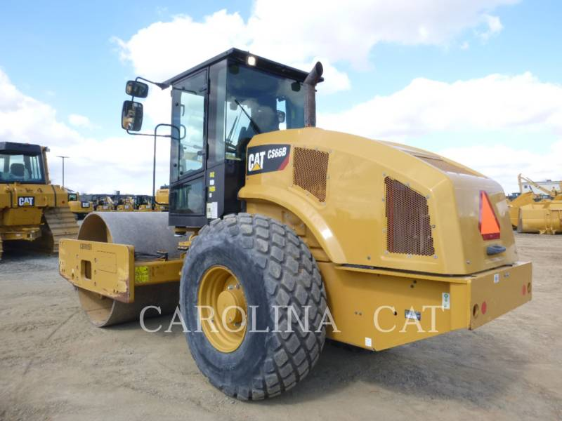 CATERPILLAR EINZELVIBRATIONSWALZE, GLATTBANDAGE CS66B equipment  photo 2