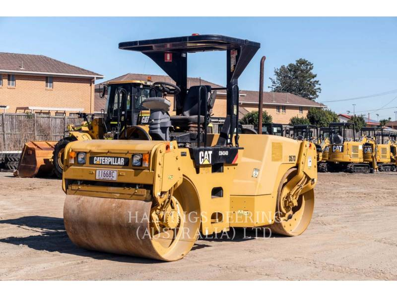 CATERPILLAR ROLO COMPACTADOR DE ASFALTO DUPLO TANDEM CB-434D equipment  photo 1