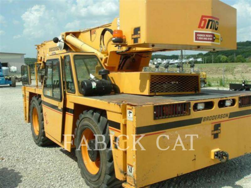 BRODERSON CRANE ŻURAWIE IC250-C3 equipment  photo 11
