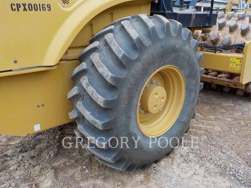 CATERPILLAR VIBRATORY SINGLE DRUM PAD CP-54B equipment  photo 20